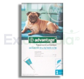 2265 - ADVANTAGE PERROS 1ML 4 A 10 KG