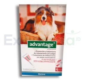 2266 - ADVANTAGE PERROS 2.5 ML 10 A 25 KG