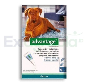 2267 - ADVANTAGE PERROS 4.0 ML 25 A 40 KG