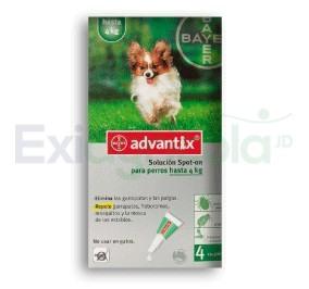 2268 - ADVANTIX 0,4 ML HASTA 4 KG