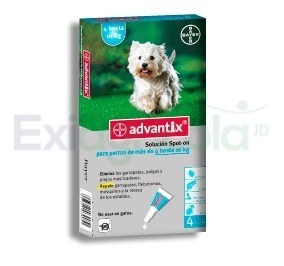 2269 - ADVANTIX 1,0 ML  4 A 10 KG