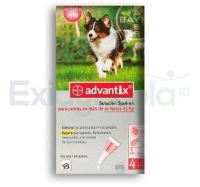 2270 - ADVANTIX 2,5 ML 10 A 25 KG