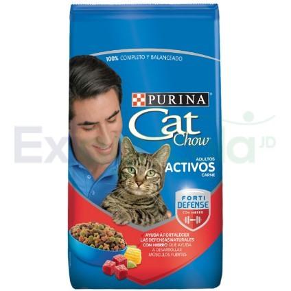 CAT CHOW CARNE - CAT CHOW ADULTOS ACTIVOS CARNE