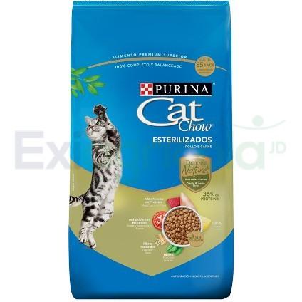 CAT CHOW ESTERILIZADOS DEFENSE - Cat Chow Defense Esterilizados (Carne & Pollo)