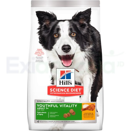 Canine Youthful Adulto 7+ x 3.5 Lb