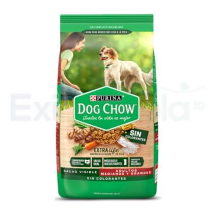 DOG CHOW ADULTO MED/GRANDE (SIN COLORANTES)