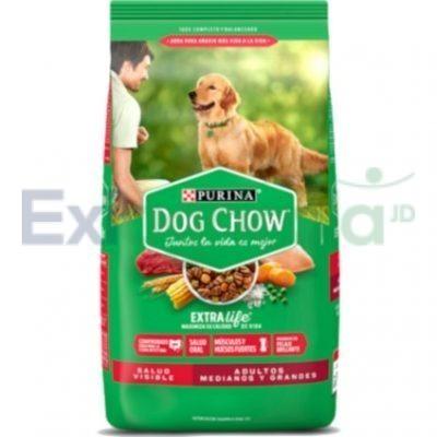 Purina dog chow adulto raza mediana extra life