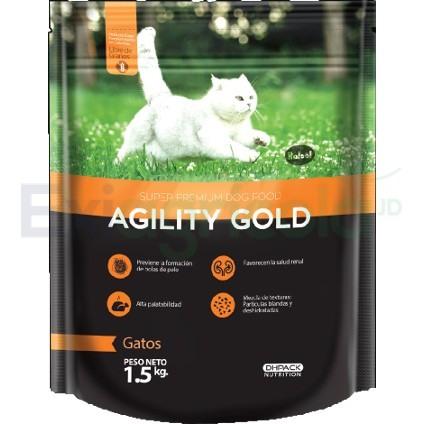 agility gatos - AGILITY GOLD GATOS