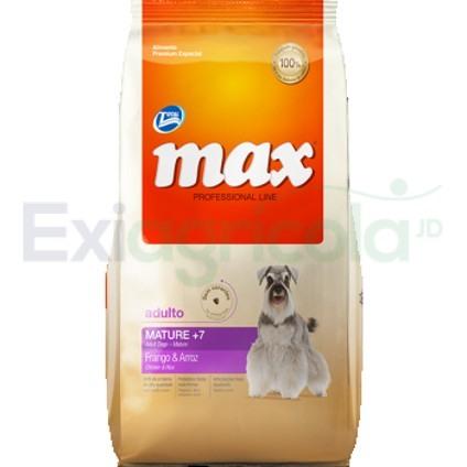 max mature - MAX SENIOR 7+(POLLO Y ARROZ)