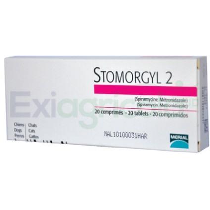 stomorgyl 2 - STOMORGYL 2 MG  CAJA X 20 TAB