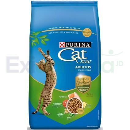 CAT CHOW ADULTO POLLO SALMON - Cat Chow Adulto Defense (Pollo & Salmón)