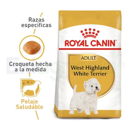 ROYAL CANIN WEST HIGHLAND TERRIER ADULTO