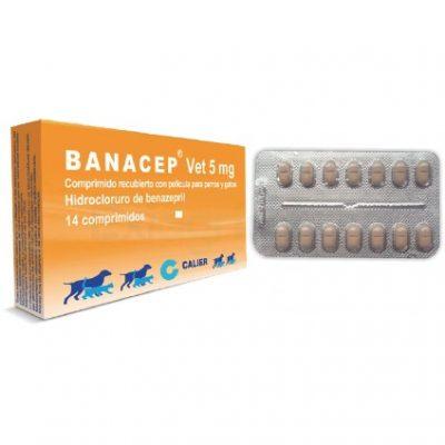 BANACEP 14 TABLETAS. 400x400 - BANACEP VET 5MG X 14 TABLETAS