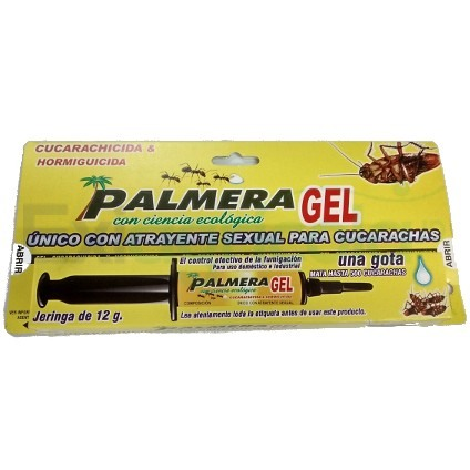 PAMGEL001 gel plamera - GEL PALMERA X 12 GR (CUCARACHICIDA)