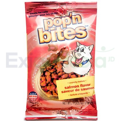 POP BITES CAT SALMON. - POP'N BITES CAT SALMON X 56 GR