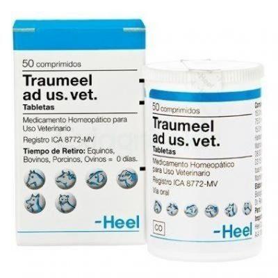 TRAUMEL 400x400 - Traumeel Ad Us Vet x 50 Tabletas