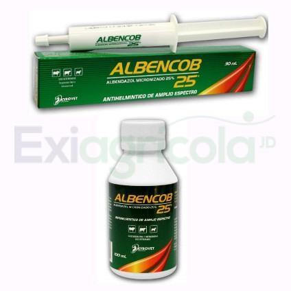 albencob - ALBENCOB 25 (ALBENDAZOL ORAL)
