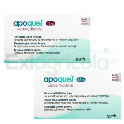 apoquel - APOQUEL BLISTER X 10 TABLETAS (5.4 ó 16 MG)