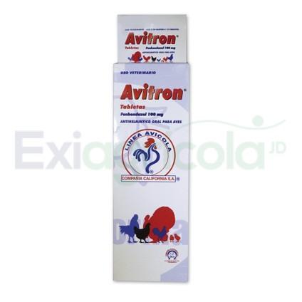 avitron tabletas aves - AVITRON BLISTER X 10 TABLETAS (AVES)