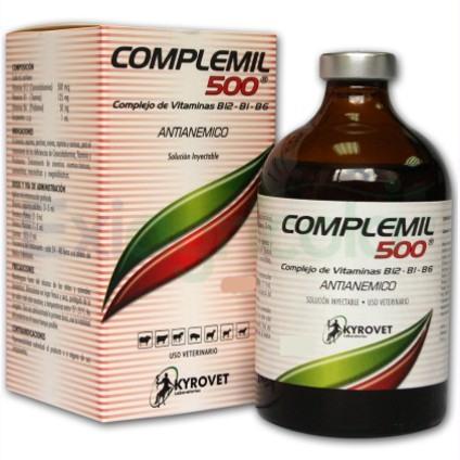 complemil inyectable - COMPLEMIL 500 INYECTABLE