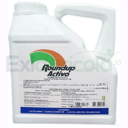 round up glifosato - ROUNDUP ACTIVO (GLIFOSATO)
