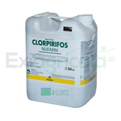 CLORPIRIFOS NUFARM - CLORPIRIFOS 480