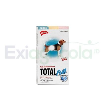 Holliday Total Full Antiparasitario Perros Chicos  - TOTAL FULL PERROS PEQUEÑOS X 2 TABLETAS