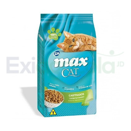 Total Max Cat CASTRADO  - MAX CAT CASTRADOS