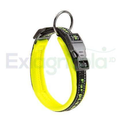 collar perro sport amarillo