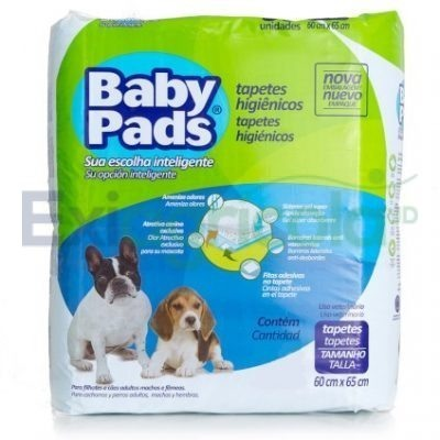tapetes baby pads