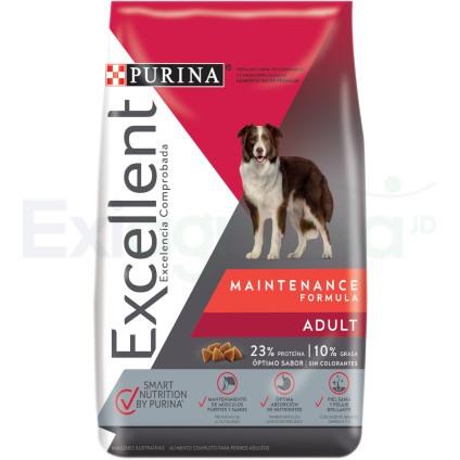 Comida para perro excellent adulto mantenimiento
