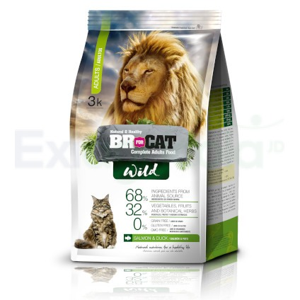 BR FOR CAT WILD ADULTO
