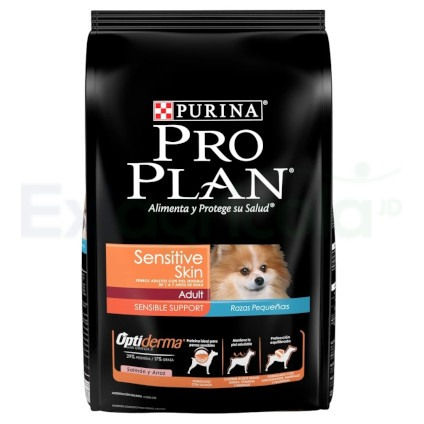 PRO PLAN ADULTO SENSITIVE SKIN RAZA PEQUEÑA