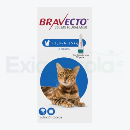 BRAVECTO SPOT ON CAT 250 MG