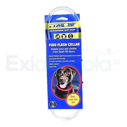 COLLAR USB FIDO FLASH RECHARGEABLE