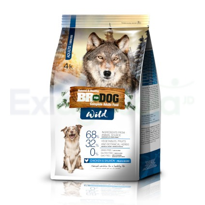 BR FOR DOG WILD ADULTO