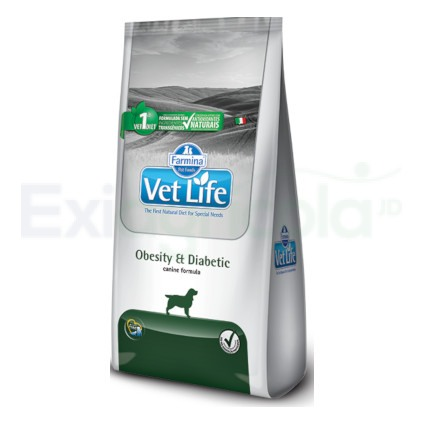 VET LIFE DOG OBESITY & DIABETIC