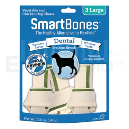 SMARTBONES DENTAL LARGE 3PK EXIAGRICOLA
