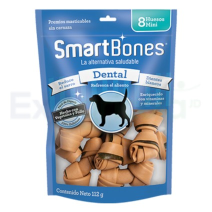 SMARTBONES DENTAL MINI 8PK EXIAGRICOLA