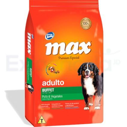 MAX ADULTO BUFFET POLLO X 20 KG